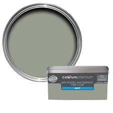 colours premium fossilised matt emulsion paint 2 5l hallway
