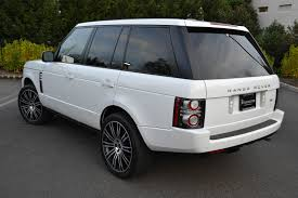 range rover white land rover rang rover hse 2012 pre owned