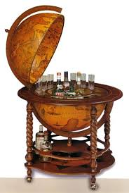 Globe Drinks Cabinet Old World Bar Globe For Liquor Storage Home Decor Pinterest