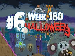 angry birds friends 2015 halloween tournament level 6 week 180