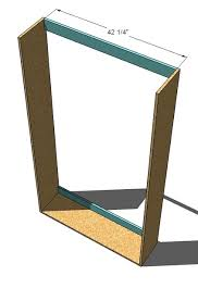 Murphy Bed With Desk Plans Ana White Plans A Murphy Bed You Can Build And Afford To Build