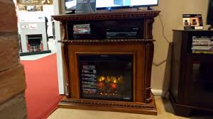 classicflame 23de1447 o107 corinth fireplace tv stand product