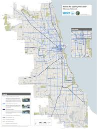 Divvy Bike Map Chicago by Bike Map Chicago Chicago Map