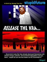 Release The Kraken Meme - release the kraken 皓 stupidfuture obscure sci fi parodies