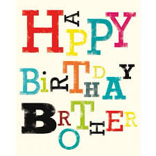 feliz cumpleaños hermano feliz día de pinterest happy