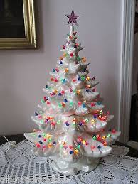 christmas tree with lights sale white ceramic christmas tree with lights sangsterward me