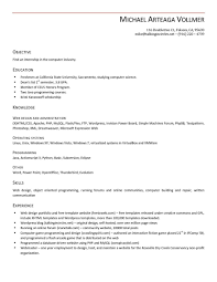 Sample Resume Security Guard by Curriculum Vitae Objective Statement Resume Warehouse Job Resume
