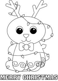 rudolph color page christmas coloring pages free printable