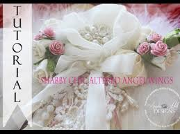 shabby chic angel wings tutorial for sale youtube