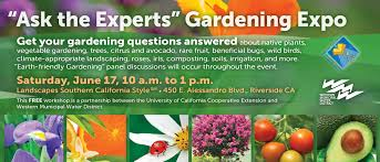 native plants extension master gardener western municipal water district ca