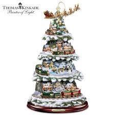 thomas kinkade christmas collections bradford exchange
