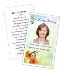 prayer cards for funeral memorial cards templates funeral cards template