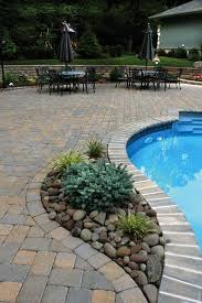 Decorating Around The Pool Best 25 Backyard Pool Landscaping Ideas On Pinterest Pool Ideas