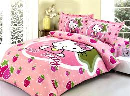 Hello Kitty Duvet Little Hello Kitty Bedding Set Bedspread For Single Twin