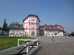 santa claus house north pole ak christmas in july the santa claus house in north pole alaska