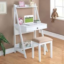 Wood Computer Desk With Hutch Foter by Desk White With Drawers And Hutch Wood Regard To Attractive