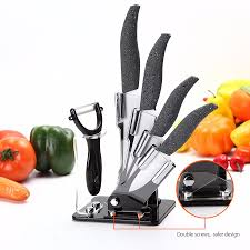 kcasa kf 1 5 pieces zirconia ceramic knife set multi function kcasa kf 1 5 pieces zirconia ceramic knife set multi function ergonomic chef knife