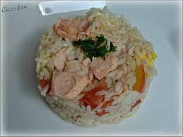 cuisine salade de riz salade de riz au saumon céci bon