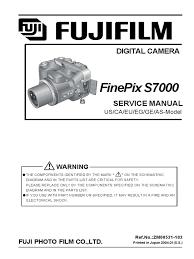 fuji finepix s7000 service manual autofocus pixel
