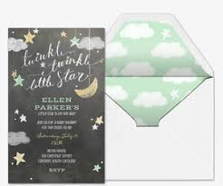 twinkle twinkle baby shower invitations online baby shower invitations evite