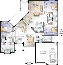 3 Bedroom Bungalow Floor Plans House Plan W3256 Detail From Drummondhouseplans Com