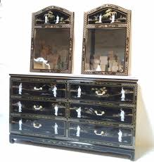 asian dressers dresser furniture black lacquer of pearl for bed