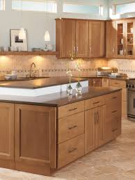 Cottage Kitchen Islands Shenandoah Cabinetry Island In Solana Spice Kitchen Islands