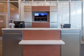 Ticket Desk Duluth International Airport Forms Surfaces