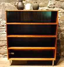 Mid Century Modern Bookcase 96245 Danish Mid Century Modern Four Shelf Rosewood Open Bookcase