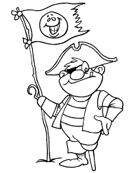 pirate coloring pirate hook hand u0026 peg leg