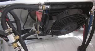 oil cooler with fan oil cooler fan kit 96 plate cooler w fan empi doghouse repair