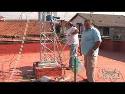 tralicci per radioamatori montaggio traliccio ed antenne 3 parte