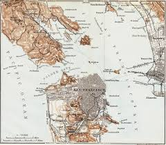 San Francisco Neighborhood Map by Behold This Vintage 1909 Map Of The San Francisco Bay Area
