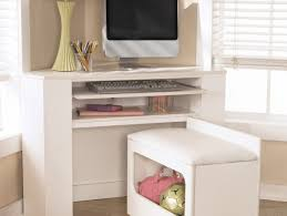 chic office supplies alluring photograph grey writing desk charming white oak corner