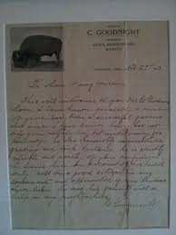 charles goodnight letter charles goodnight wikipedia the free