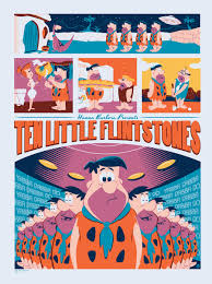 the flintstones the flintstones yogi bear and tom and jerry get mondo posters