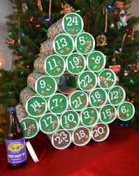 Advent Decorations 15 Beer And Wine Inspired Diy Christmas Decorations