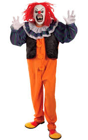 Clown Halloween Costume Creepy Penny Wise Clown Costume Clown Halloween Costumes