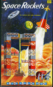 dreams of space books and ephemera space rockets 1958