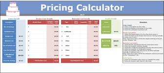 Pricing Spreadsheet Template Seeking Sweetness In Everyday Life Cakespy Batter Chatter
