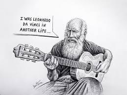 ben heine art and music blog recent ballpoint pen sketches
