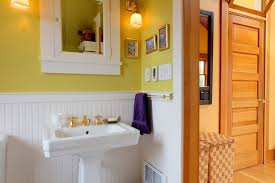 Install Beadboard Wainscoting Installing Beadboard Wainscoting Bathroom Craftsman With 5 Panel