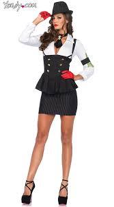Italian Halloween Costume Machine Gun Molly Costume Gangster Costume Tux Costume