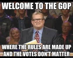 Gop Meme - we choose the nominee not the voters senior gop official black