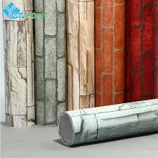 self adhesive wall paper 60cmx5m modern self adhesive wallpaper brick walls home decor wall