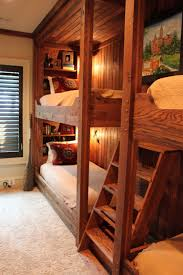 Cabin Bunk Bed Cabin Bunk Bed Ideas Bedroom Traditional With Childrens Room Guest