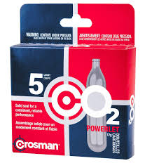amazon com crosman 12 gram co2 15 cartridges hunting air