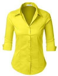 yellow blouse amazon com yellows blouses button shirts tops tees