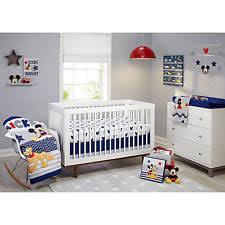 Mickey Mouse Toddler Duvet Set Mickey Mouse Crib Bedding Ebay