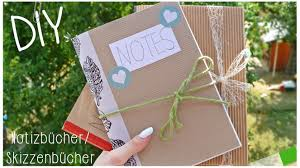 tagebuch selbst designen diy school supplies notizbücher skizzenbücher selber machen